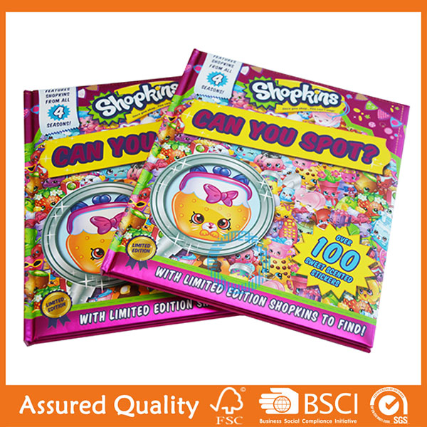 Manufactur standard Color Coupon Book Printing - Hardcover children - Coupon Book Printing