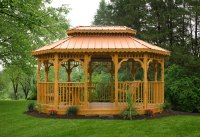 Kauffmans Gazebos | Premium Vinyl or Wood Gazebos ...