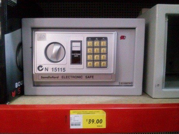 sandleford electronic safe n15115 instructions
