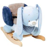 Blue Rabbit Plush/Timber Rocking Rocker Chair Toy/Ride On ...