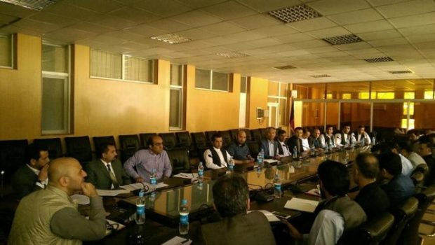 Naderi meeting contractors and subcontractors