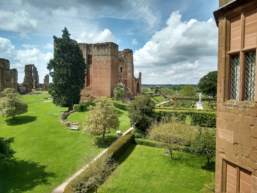 The castle from the gatehouse.