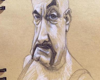 Flesh-Gordon-caricature
