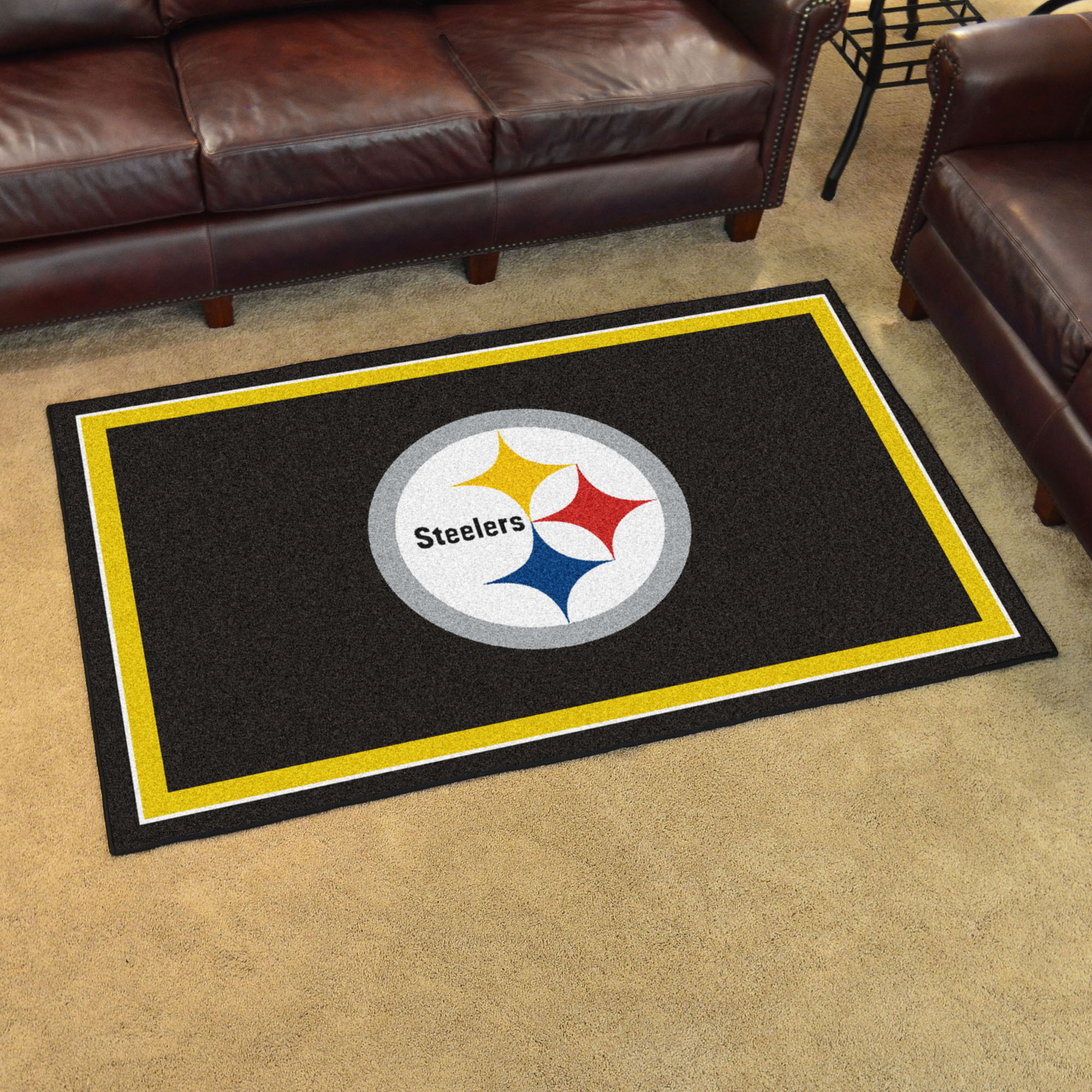 Pittsburgh Steelers 4x6 Area Rug Buy At Khc Sports