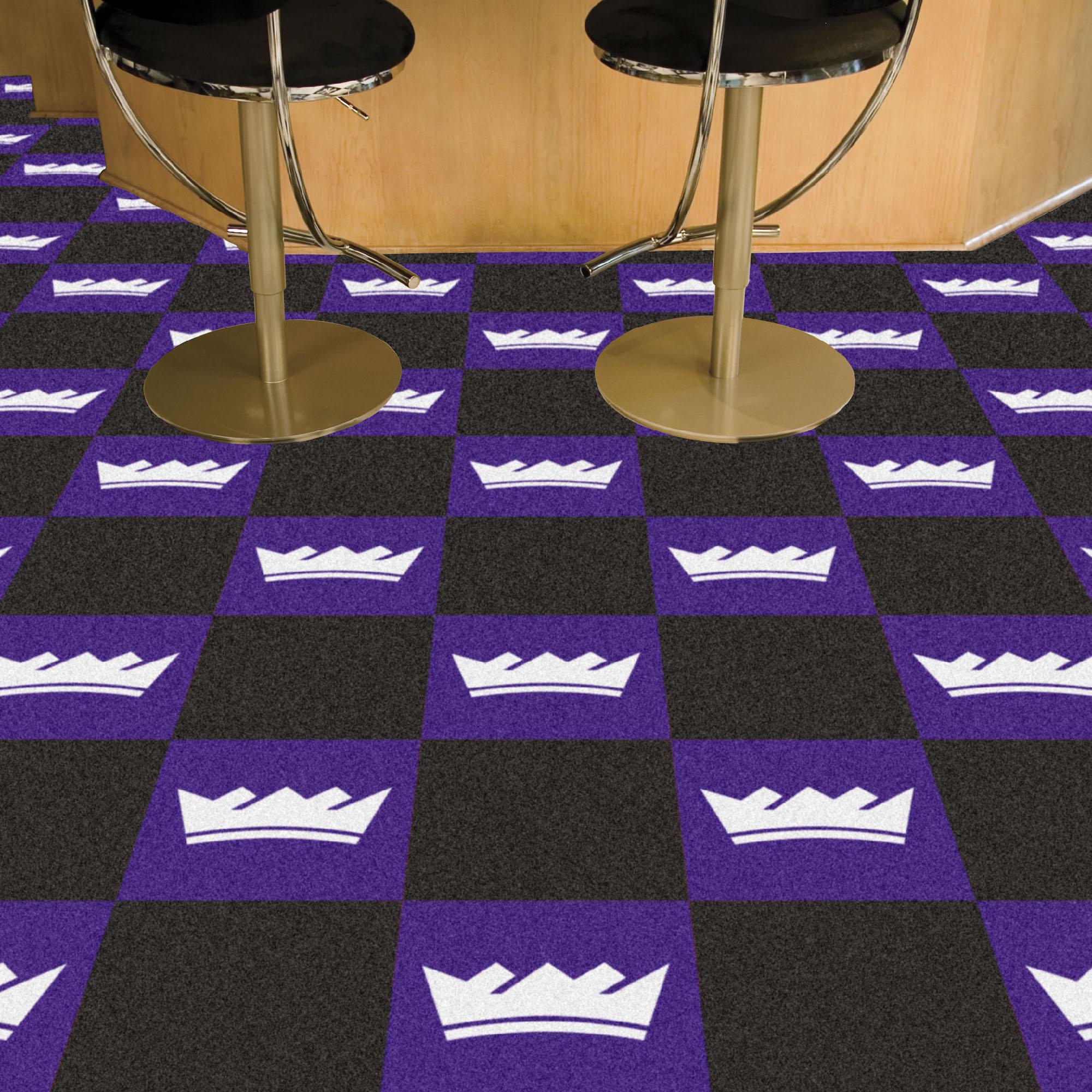 Sacramento Kings Carpet Tiles 18x18 In Buy At Khc Sports