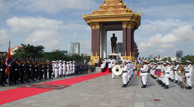 Sihanouk service
