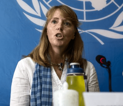 UN Special Rapporteur on the situation of human rights in Cambodia, Rhona Smith