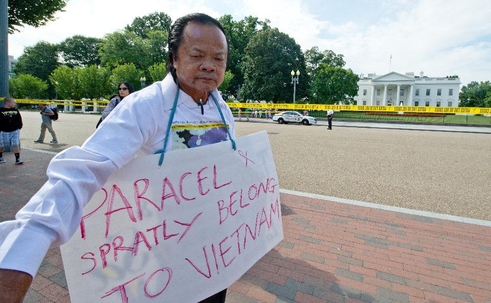 Vietnamese protester