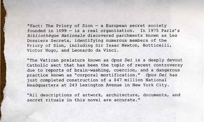 Part 1 of a Series The Da Vinci Code Decoded - Chuck Missler