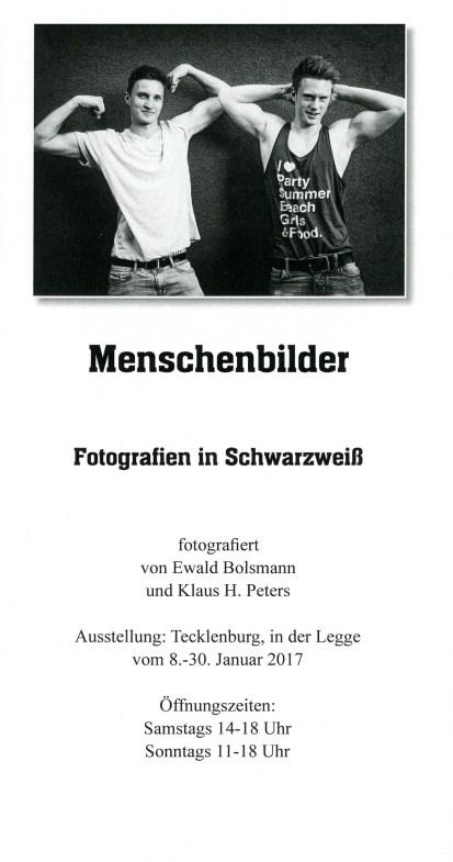Menschenbilder - Fotografien in Schwarzweiß