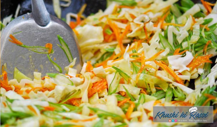stir-fried-cabbage-salad-recipe-in-hindi