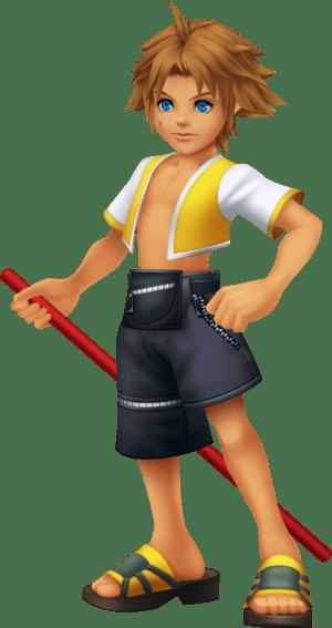 Disney World Fall Wallpaper Game Tidus Selphie And Wakka Kingdom Hearts Wiki The