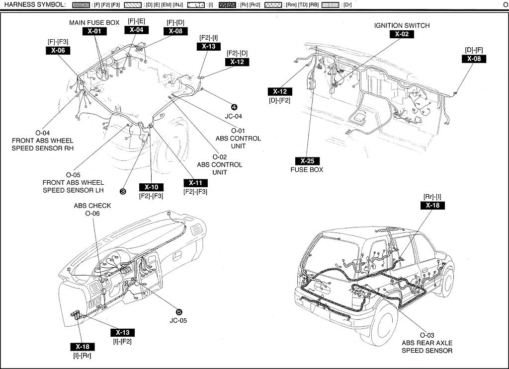 abs wiring harness diagram