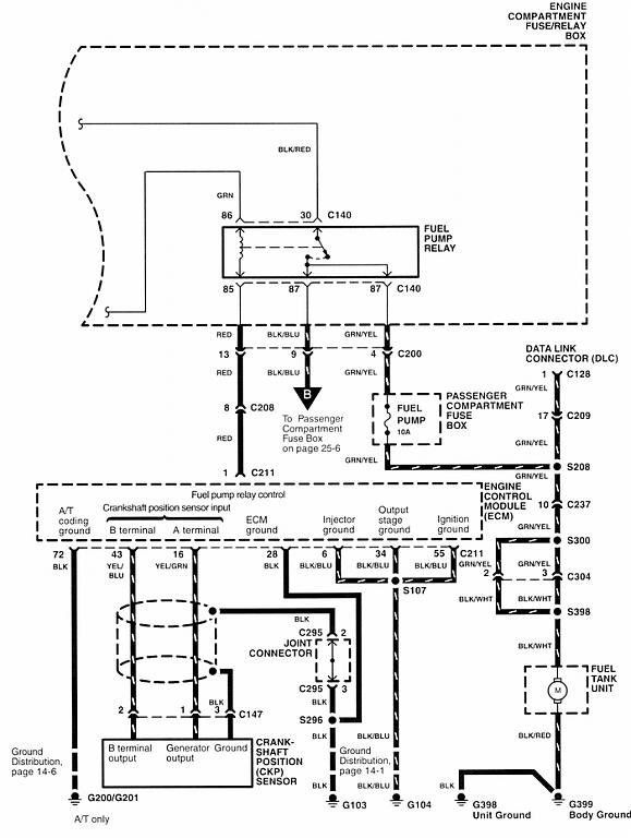2002 honda passport radio wiring diagram