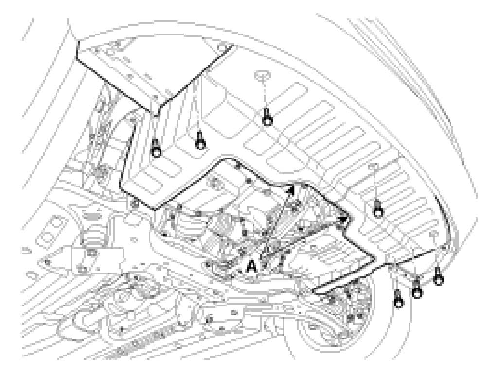 2010 kia forte radio fuse location