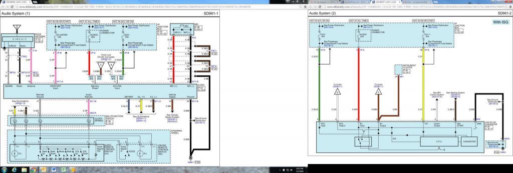 Wiring diagram for 2013 kia rio SX with navigation - Kia Forum