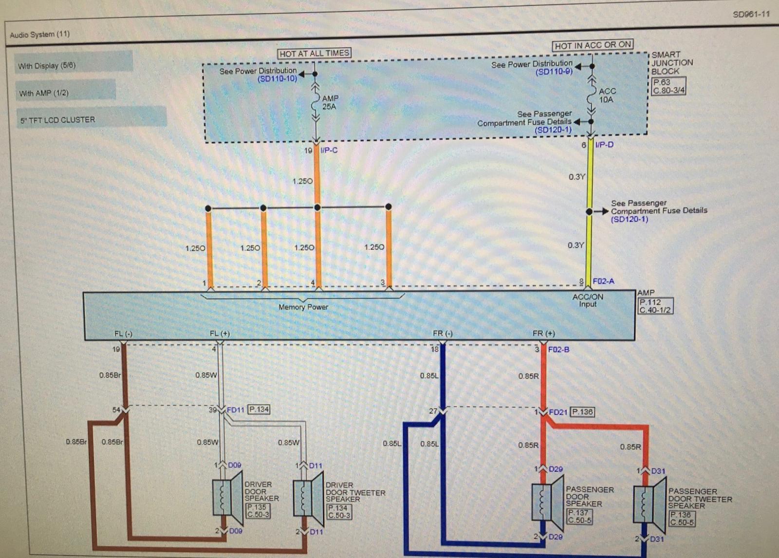 2007 kia sportage wiring diagram