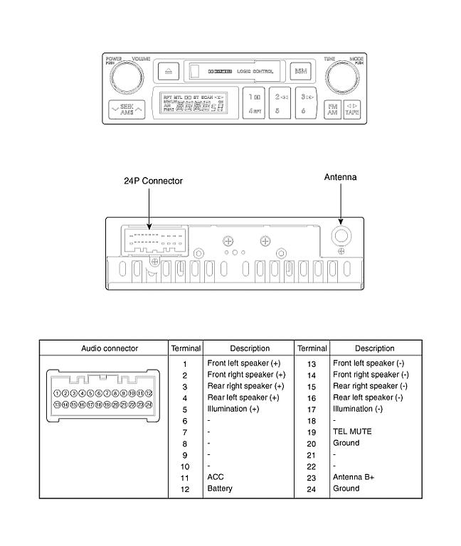 2008 Hyundai Tiburon Radio Wiring Diagram Wiring Diagram