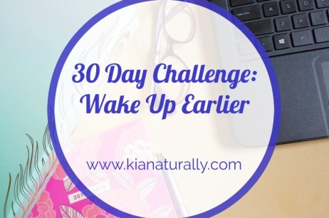 30 Day Challenge: Wake Up Earlier Week 2