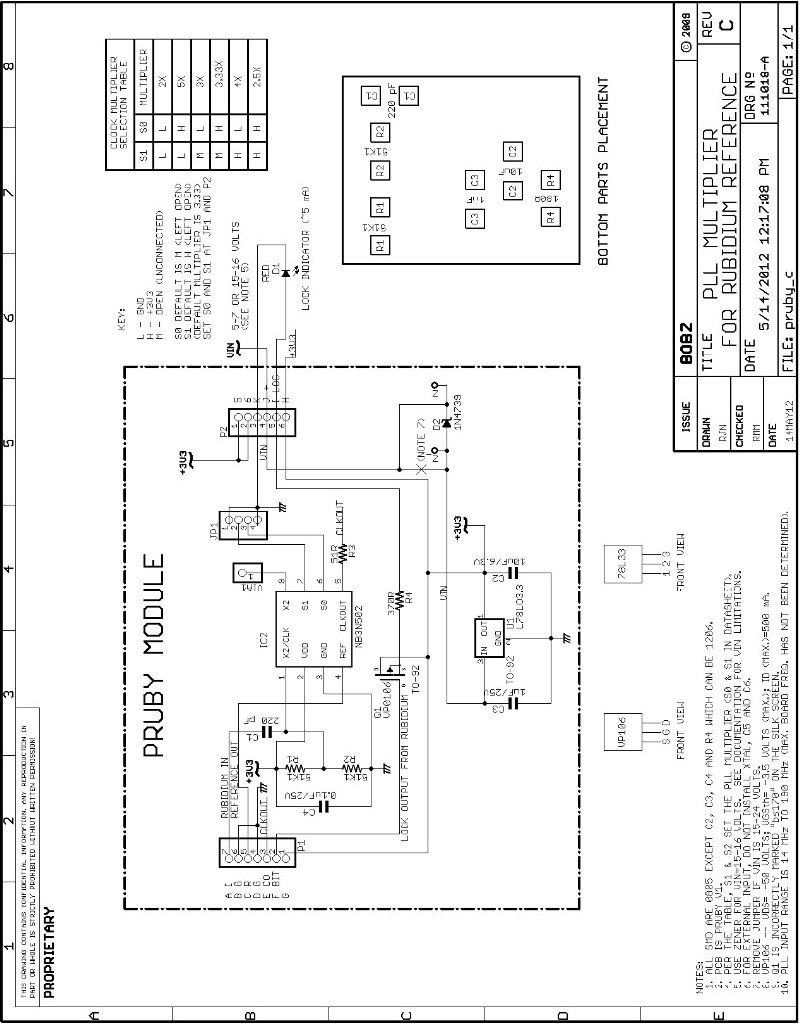 circuit board diagram labeled circuit board parts placement