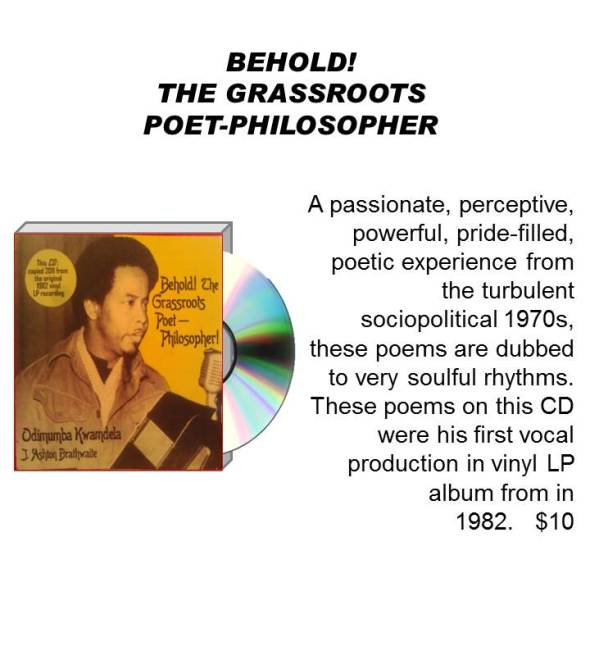 BEHOLD! THE GRASSROOTS POET-PHILOSOPHER