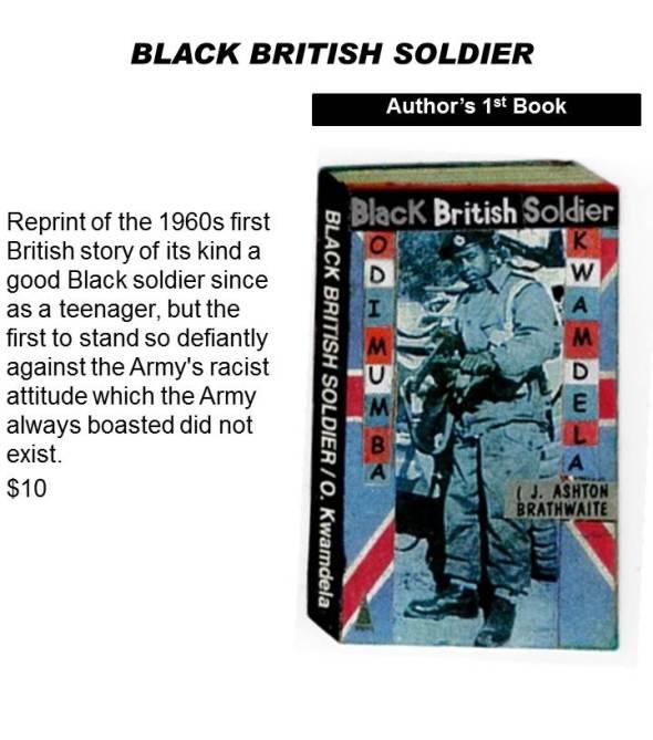 Black British Soldier