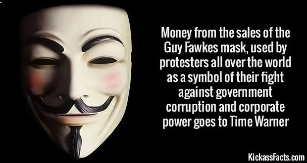 1848 Guy Fawkes mask
