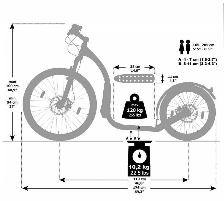 kickbike-crossFix-mesure