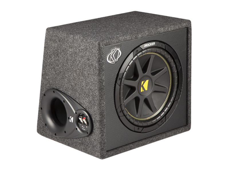 12quot Comp Loaded Subwoofer Box Kickerr