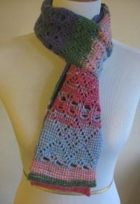 Heart Scarf Tunisian Crochet | Kickin Crochet