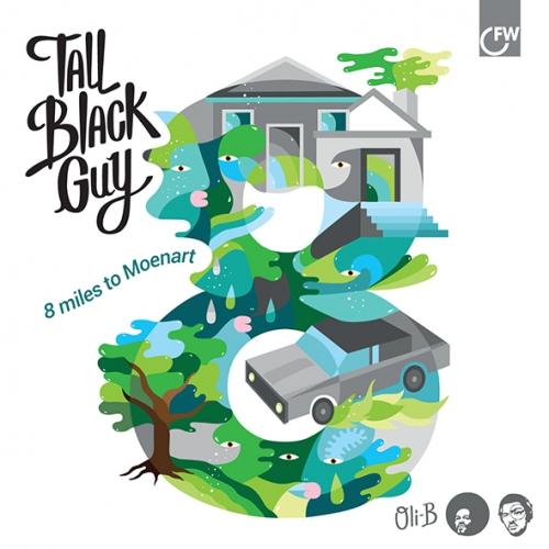 Tall Black Guy 8 Miles To Moenart Tall Black Guy's dance/R&B/ hip-hop hybrid offers another sonic trail into Detroit's complicated relationship between urban malaise and urban beauty.
