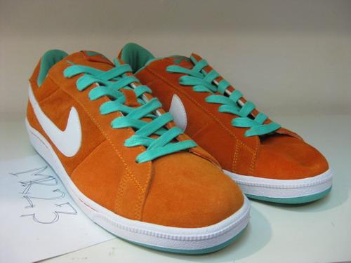 Nike SB Classic - Orange - Turquoise-Green