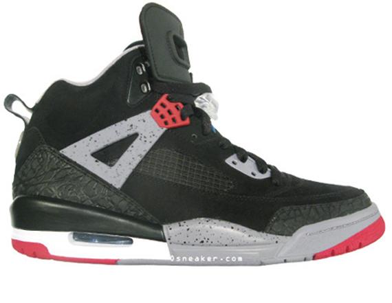 Air Jordan Spizike – Black / Varsity Red – Cement