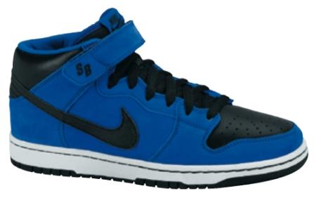 Nike SB Dunk Mid SB - Royal Blue / Black