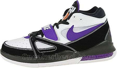 Nike Alpholution – White / Black – Varsity Purple – Orange Blaze