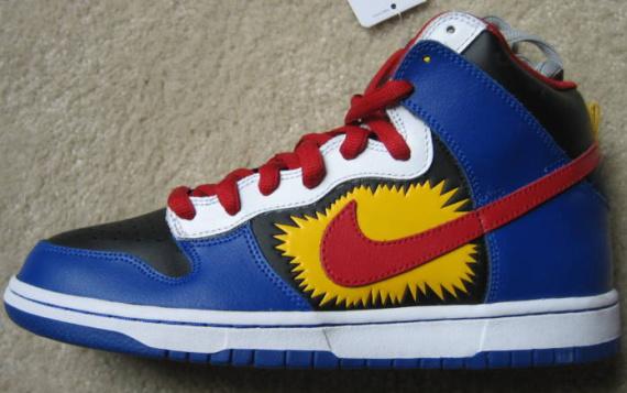 Nike Dunk Hi SB - Kablam!