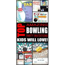 Small Crop Of Bowling Party Invitations