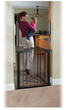 Small Of Pressure Mounted Baby Gate