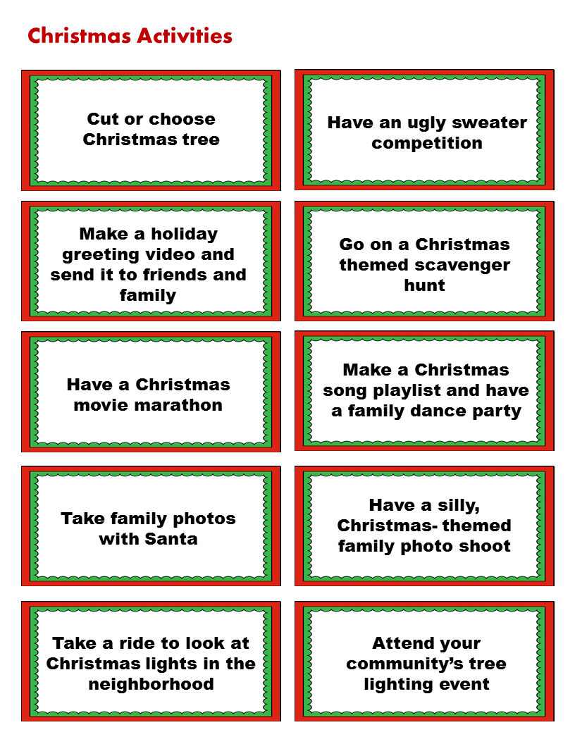 40 christmas activities your family will actually enjoy for Christmas activities for families to do