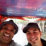 Al and J-Si's petty cab ride