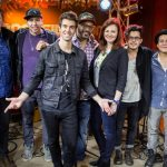 American Authors with the cast