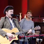 Lead singer Jake Roche and on keys Danny Wilkin
