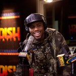 B.o.B. in studio with the Kidd Kraddick Morning Show