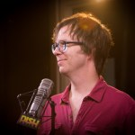 Ben Folds in studio