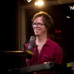 Ben Folds laughing with the cast