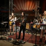 """HAIM sings """"The Wire"""" and """"Forever"""" in studio"""
