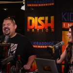 Gabriel Iglesias and Jenna laughing