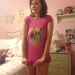 Kellie in Emma Kelly's PJs