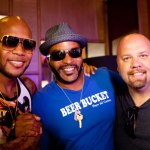 Flo Rida with Big Al and Executive Producer Mike