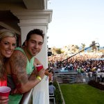 J-Si and Kinsey at the Flo Rida Concert